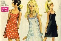 """1960s Vintage Sewing Patterns / This board is a collaboration of the Pattern Patter Team on Etsy highlighting women's sewing patterns from the 1960s. https://www.etsy.com/pages/patternpatter"""""""