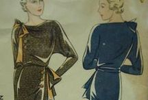 1930s Vintage Sewing Patterns / This board is a collaboration of the Pattern Patter Team on Etsy highlighting women's sewing patterns from the 1930s  https://www.etsy.com/pages/patternpatter""