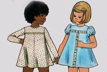 """Children's Sewing Patterns Vintage and Modern / This board is a collaboration of the Pattern Patter Team on Etsy highlighting vintage and newer children's sewing patterns. https://www.etsy.com/pages/patternpatter"""""""