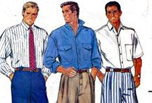 Men Only Sewing Patterns / This board is a collaboration of the Pattern Patter Team on Etsy highlighting vintage and newer men's sewing patterns https://www.etsy.com/pages/patternpatter""