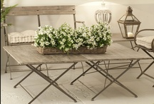 Shabby style / The decor shabby and country, is a true lifestyle