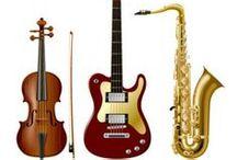 Instrumentos Musicais / by Jardna Juca