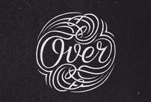 lettering + typography.