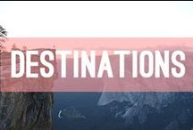 DESTINATIONS / All the beautiful places, cities and countries I need to see some day. And you do too.