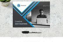 Inspiration design Print - Web / Flyers, affiches, site web...