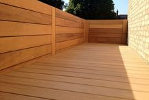 Bespoke timberwork / Bespoke wall panels, fences, screening & trellis we have built
