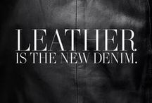 Leather it is