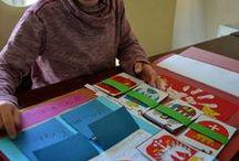 Lapbook / Książka na kolanach, czyli własnoręcznie wykonane przez uczniów materiały do nauki.