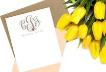 { Say Hello } / Stationery & Notecards