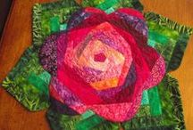 handmade kitchen items / dish cloth-towels,table runners,coasters,potholders & etc. / by jeannie shephard