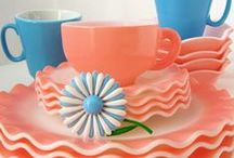 My RETRO Kitchen DECOR / Retro Kitchen Decor and Accessories. Inspiration, DIY Projects.