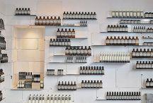 La beau / Parfum::: flacon//packaging//agencement//concept store//laboratoire