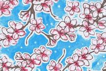 """SPRING"" Oilcloth Fabric ! / for all things Oilcloth ~ www.oilclothalley.com"