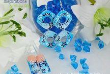 """Airbrush-Schmuck """"clairWORX"""" / Schmuck mit Airbrush verziert... Jewelry decorated with airbrush..."""
