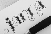 { Hand Lettering }
