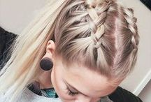Hairstyle - Coiffure facile et tendance / Coiffure simple - Se coiffer sans perdre de temps