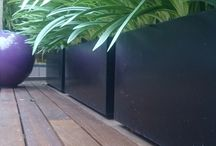 Planters / Modern planters for adding style & screening to your garden or roof terrace