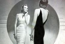 1930s - PATTERN PATTER STYLE / Return to femininity, Wallis Simpson, Gone with the Wind, Beach Pajamas, Halter Tops, Bare Midriffs, Schiaparelli, Chanel, Bias Cut Dresses