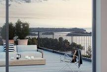 Terrace - outdoor - design / Terrasse design - Inspiration