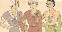 1920s Vintage Sewing Patterns (and Earlier) / This board is a collaboration of the Pattern Patter Team on Etsy highlighting women's sewing patterns from the 1920s and earlier https://www.etsy.com/pages/patternpatter""