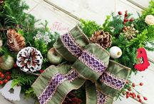 ChristmasWreaths,Christmas Decoration / アトリエノリーズが制作した、クリスマスのデコレーション、アレンジメント作品など。