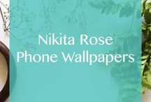 Nikita Rose | iPhone 5 Wallpapers / Free iPhone 5 and iPhone 5s wallpapers designed by NikitaRose.com