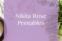 Nikita Rose | Printables