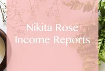 Nikita Rose | Income Reports / Income reports published on nikitarose.com