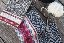Fair-isle en Baltisch / Alle soorten fijn meerkleurig fijn patroonwerk