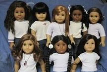 American Girl Dolls / by Ride Along Dolly