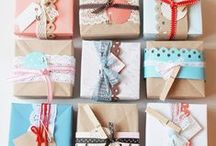 Gift Wrap Ideas / by Char Gates
