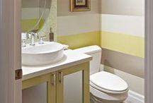 Bijou Loos / Powder Room and Small Bathroom Ideas