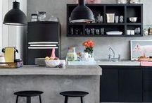 Interiors/Kitchen Design / Selection of inspiring kitchen designs / by Jarek Pawlicki