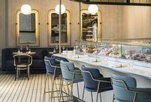 Interiors/Gastro / Inspiring Bar, Restaurant, Club, Pub designs I wished were my work. / by Jarek Pawlicki