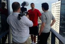 Dante Exum and the Bleacher Report production / A look behind the scenes of our work with US Sports website Bleacher Report, covering Australian young-gun basketballer Dante Exum