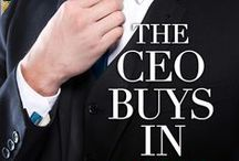The CEO Buys In / Wager of Hearts: Book 1 / by Nancy Herkness
