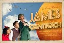 James and the Giant Peach, The Musical - 2014 / Mill Valley, Berkeley, San Ramon, SF: November 6, 2014 - January 4, 2015 / www.bactheatre.org