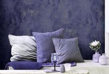 Fabrics, cushions, rugs, wallcoverings etc / by Kate