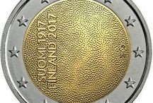 Euro coins / Commemorative euro coins