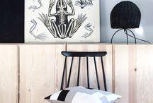 # BOY ROOM - SANDBERG / boy room inspiration, black and white, wood, natural, greys, vintage, industrial, scandinavian