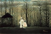 Henri Rousseau / Paintings of H R