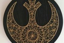 string art & embroidery