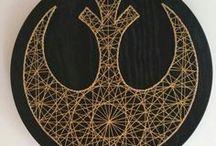 string art & embroidery & cross stitch