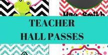 Classroom organization / Whether you are a new teacher or an experienced teacher, each year you spend your summer coming up with new ways to organize your classroom.  If your students are older, they may need a hall pass. Check out our unique classroom hall passes that will add the extra pop and pizzazz you are looking for https://pvcinvites.com/collections/hall-passes