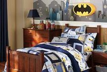 Boys Room for Cody & Austin / boys, bedroom, kids, superheroes, comics, marvel  / by Tanya Price