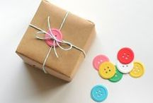 Gifts / bits and pieces of perfect presents ... / by Grace L. Fleming