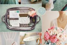 Wedding ~ Boards / inspiration for the overall feel, themes, color design and extras for weddings or events