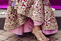Asian Style - VIBRANT PURPLES & PINKS / Asian/Indian/Pakistani luscious and colourful, sumptuous designs. / by Iram Kotia