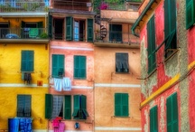  Around the World Color  / Every man assumes the colors of his surroundings. ~ Chinese Proverb / by Kelly Diane