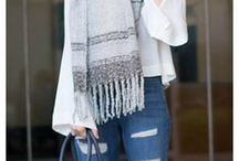 FALL STYLE /  boots, scarves, leggings, and more!